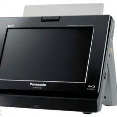 Panasonic Anuncia a Primeira TV Portátil do Mundo com Blu-ray!