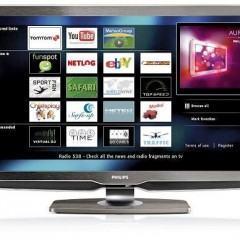 Philips Net TV: Navegue pela Web na sua TV!