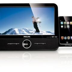 DVD Player da Philips com Dock Retrátil para iPod