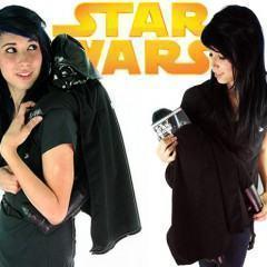 Mochila do Darth Vader!