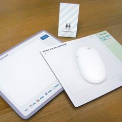Mouse Pads do Twitter e Facebook!