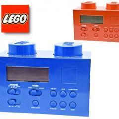 Rádio Relógio Lego!