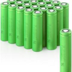 Pilhas de Lítio-Íon da Sony Duram 4 Vezes Mais