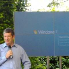 DD na Coletiva de Lançamento do Windows 7