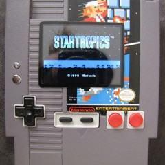 Nintendo 8-Bits portátil no próprio cartucho!