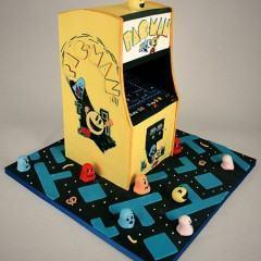 Sensacional Bolo do Pacman!