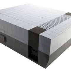 Réplica do Nintendo 8-Bits em Lego!