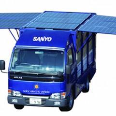 Carro Solar da Sanyo