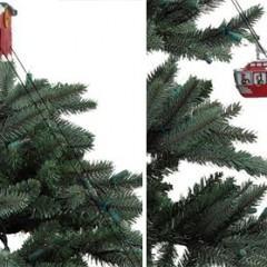Um Bondinho para a sua Árvore de Natal!