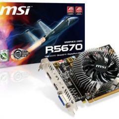 MSI apresenta a Radeon HD 5670