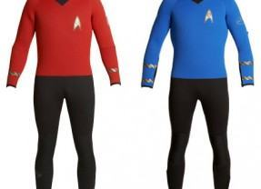 Roupa de Mergulho Star Trek!