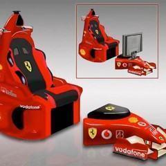 Cadeira Multimídia F1 Chair