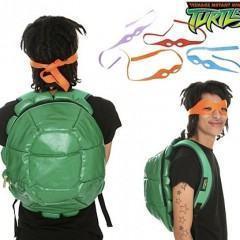 Mochila das Tartarugas Ninjas!