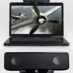 Logitech Clip-On Speaker para Notebooks
