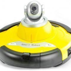Robô Aspirador com Câmera de Vídeo