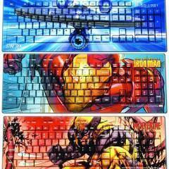 Teclados e Mouses: Star Trek, Iron Man e Wolverine