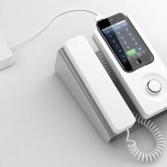 Desk Phone Dock Transforma seu iPhone em um Telefone de Mesa!