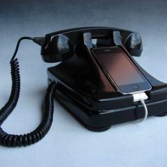 Retro Rotary iPhone Dock – Faça ligações como antigamente!
