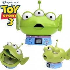 Toy Story 3: Alien Verde vira CD Player