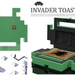 Torradeira Space Invaders!