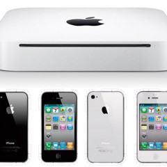 Modelos de Papel do Mac Mini e iPhone 4