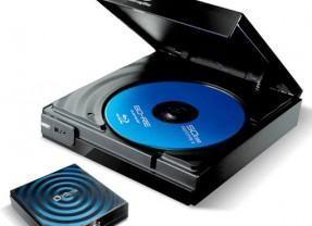 Leitor de Blu-ray com Alimentação USB