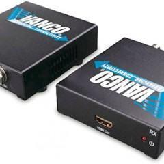 Extensão de Vídeo HDMI Via Cabo Coaxial