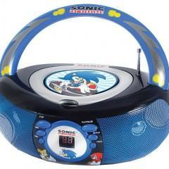 Boombox Sonic the Hedgehog!