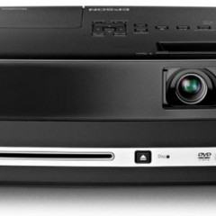 Projetor Epson com DVD e Caixas de Som