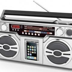 iPod Ghetto Blaster com Design Anos 80