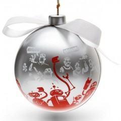 Bola de Natal Brincalhona
