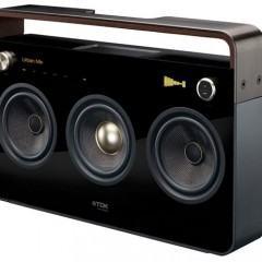 Boombox TDK com Design Super Moderno