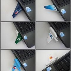 Flash Drive em formato de avião!