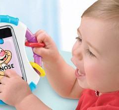 Capa de iPhone para Bebês, Resistente a Dedos Sujos e Baba!