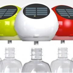 Lâmpadas Solares para Garrafas Pet