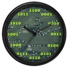 Relógio de Parede Binário