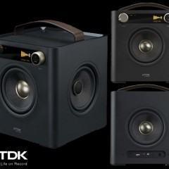 TDK Sound Cube Audio System com Som em 360 Graus