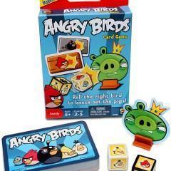 Angry Birds em Versão Jogo de Cartas