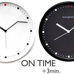 Relógio de Parede On Time para os Atrasados