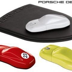 Mouse e Mousepad Porsche