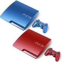 Playstation 3 em Novas Cores!