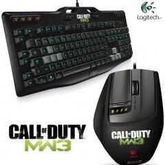 Teclado e Mouse Call of Duty: Modern Warfare 3