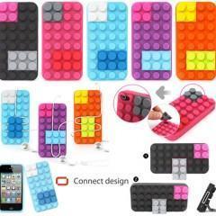 iPhone Block Case em Estilo LEGO