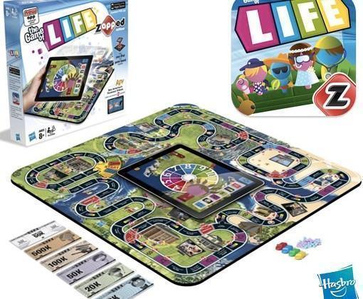 The Game of Life: zAPPed – Hasbro Junta Jogo da Vida de Tabuleiro com o iPad
