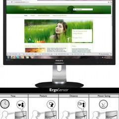 Monitor Philips ErgoSensor Corrige Sua Postura