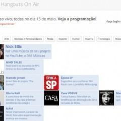Hangouts On Air – Nick Ellis e o 366 Músicas ao Vivo!