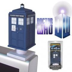 TARDIS Nave Espacial/Temporal da Série Doctor Who no Topo do Monitor!