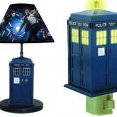 Luminária e Luz Noturna Doctor Who TARDIS