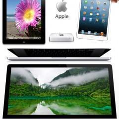 Os Novos Gadgets 2012 da Apple: iPad Mini, iPad 4th, iMac, Macbook e Mac Mini