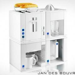 Café da Manhã Modular 4 em 1 do Designer Jan des Bouvrie